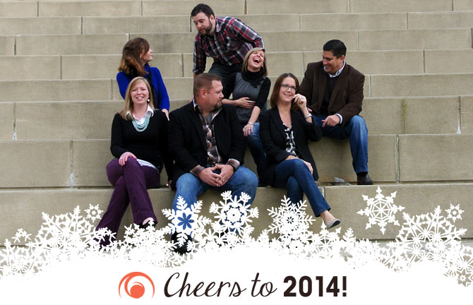 Cheers to 2014 from Array Creative