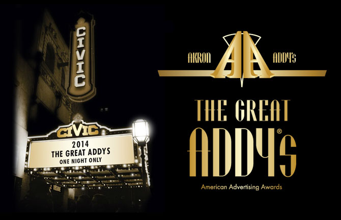 Array Creative attends the 2014 Akron Addy Awards