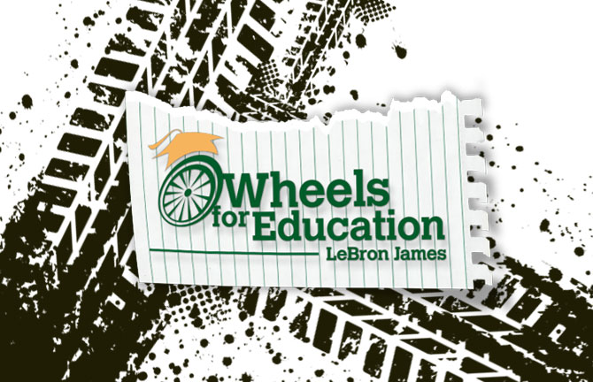 Wheels for Education LeBron James foundation