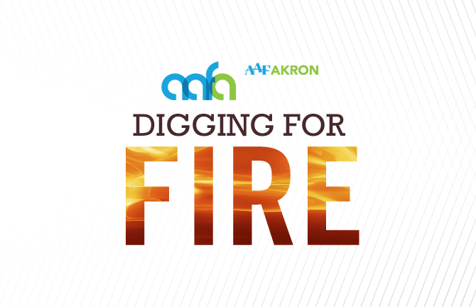AAF Akron Digging for Fire Lunch and Learn