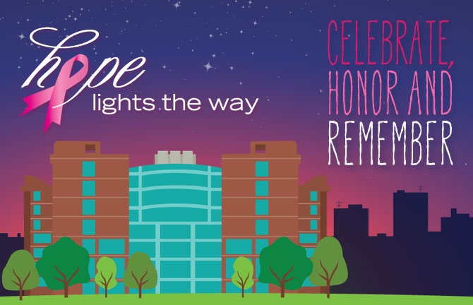 Array Creative at Hope Lights the Way event celebrate, honor and remember