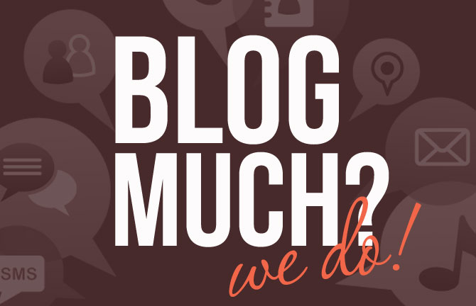 Array Creative Blog much? We do!