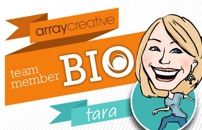 Array Creative Team Member Bio Tara