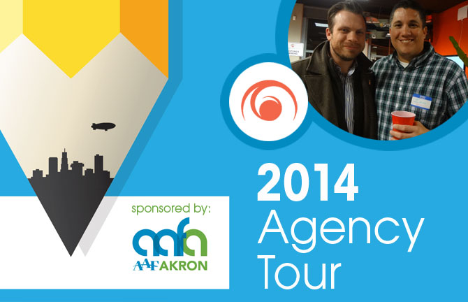 Array Creative 2014 Agency Tour sponsored by aafvAkron