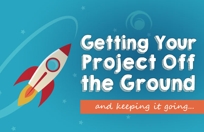 Array Creative Getting your Project off the Ground and keeping it going, rocket ship
