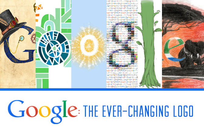 Array Creative Google: The Ever-Changing Logo