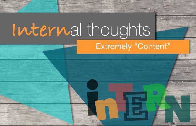 Array Creative Internal thoughts extremely content