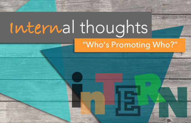 Array Creative internal thoughts who's promotion who